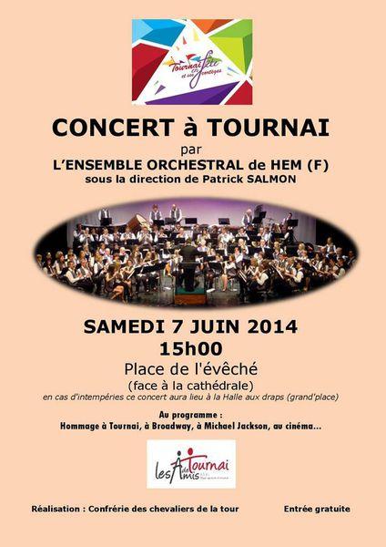 7/6/14 : ensemble orchestral de Hem à Tournai