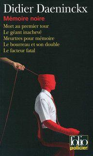 Mémoire noire, Didier Daeninckx