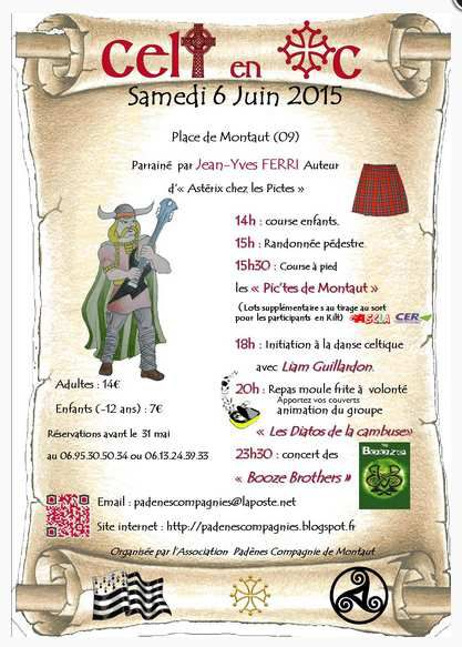Invitation au festival CELT AN OC