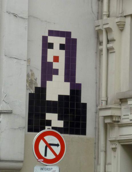 Invader - rue du Louvre