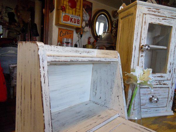 Relooking du petit meuble chiné...