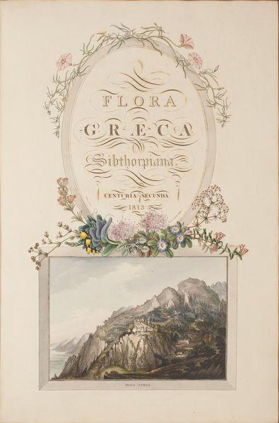 Flora graeca de John Sibthorp