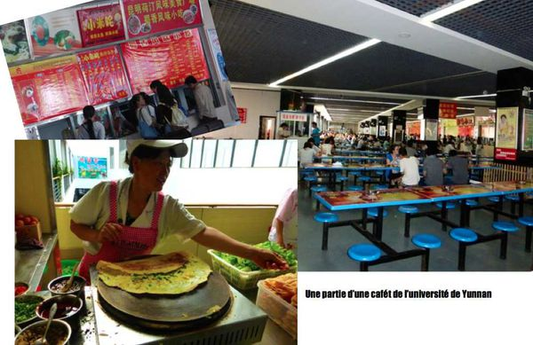 Yunnan university- Nourriture