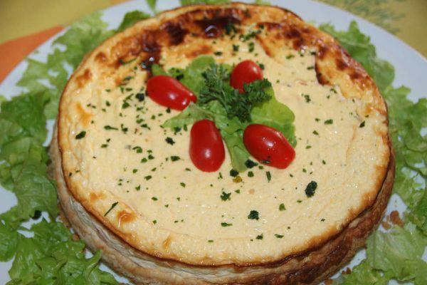 cheese cake au surimi