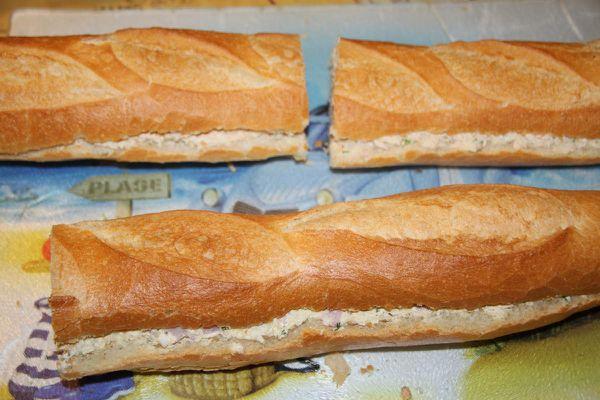 baguettes farcies