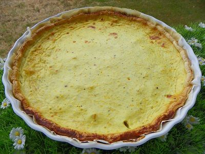 TARTE AU PATISSON (thermomix)