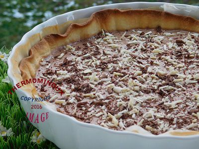 TARTE AUX CHOCOLATS KINDER MAXI (thermomix)
