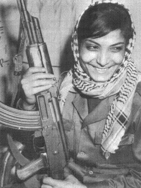 Leila Khaled, like The Teardrop Explodes said