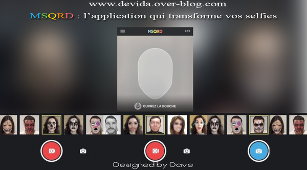 msqrd : changez vos selfies photos et videos