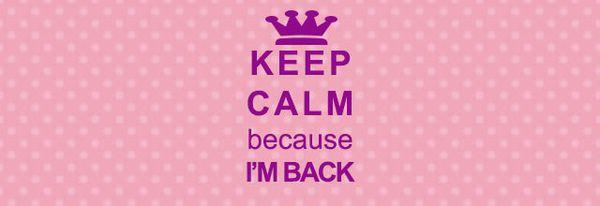 De retour ....