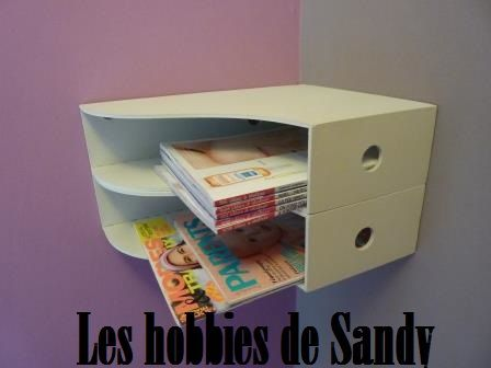 le porte revue d tourn en tablette les hobbies de sandy. Black Bedroom Furniture Sets. Home Design Ideas