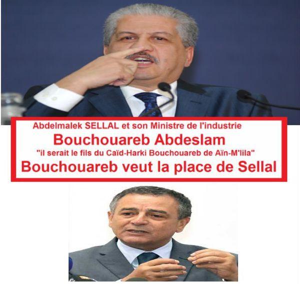 Abdelmalek SELLAL, solidarité, contre ce félon de Bouchouareb.