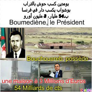 Boumédiène et ...Bouchouareb le Français-Ministre-Algérien.