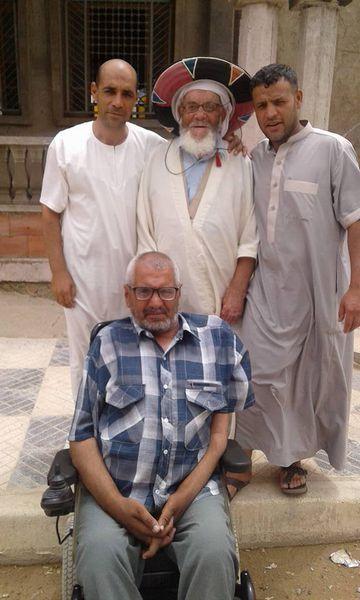 Hamzaoui, hadj sab, ??? et Bakhti Meguenni