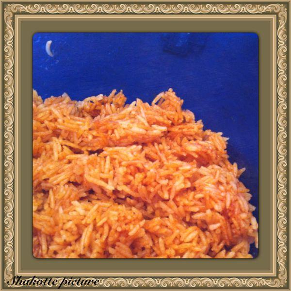 Riz basmati à la tomate
