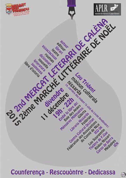 Marché littéraire Niçois / Mercat Litterari Nissart