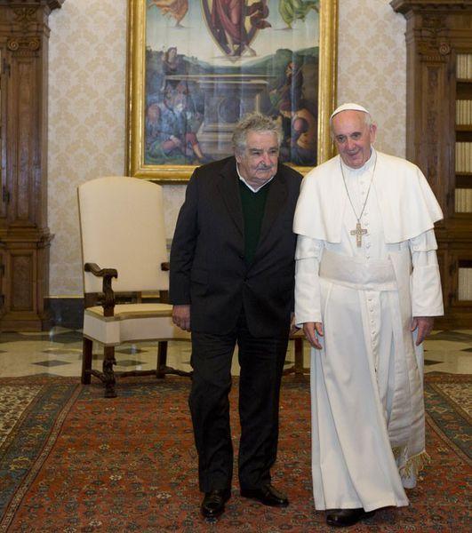 José « Pépé » MUJICA , ancien chef de l'Etat d'Uruguay