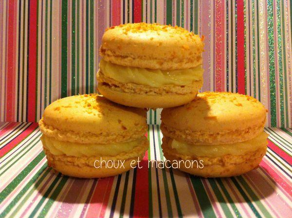 Macarons chocolat blanc - coco