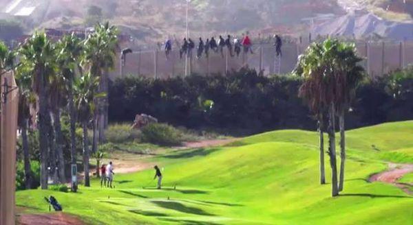 Il campo da golf di Melilla