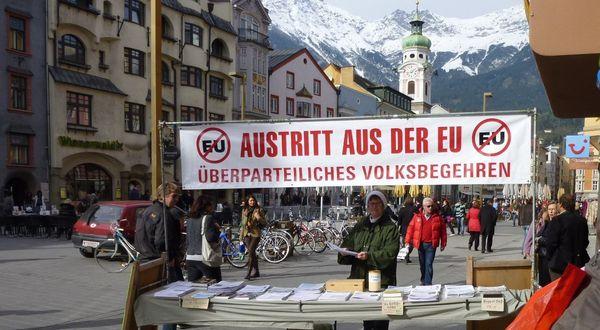 L'AUTRICHE en route pour un référendum sur la SORTIE de l'Union Européenne