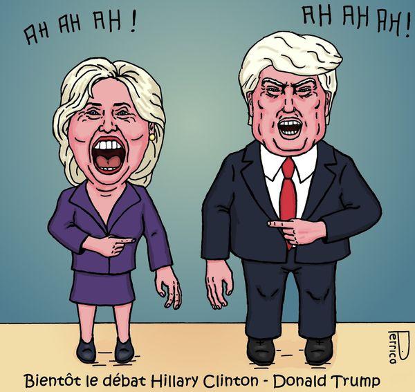 Donald Trump, Hillary Clinton, USA