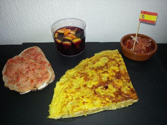 Tortilla espanola .... olé