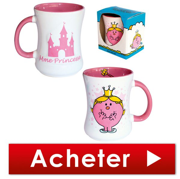 Le mug princesse Monsieur Madame
