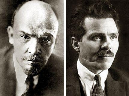 Lénine et Makhno