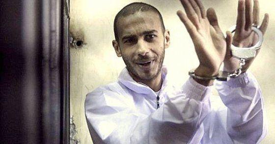Alber Saber lors de son procès pour « insulte à la religion », décembre 2012. Via centerforinquiry.net.