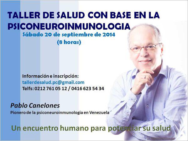 TALLER SALUD PERSONAL CON BASE EN LA PSICONEUROINMUNOLOGIA