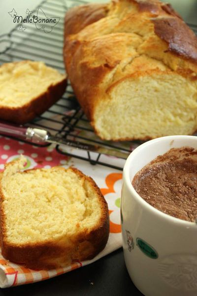 Brioche de la bible rose