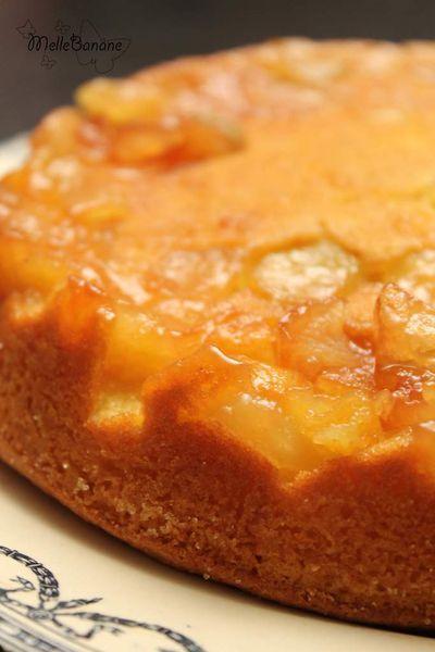 Gâteau aux pommes arrangé