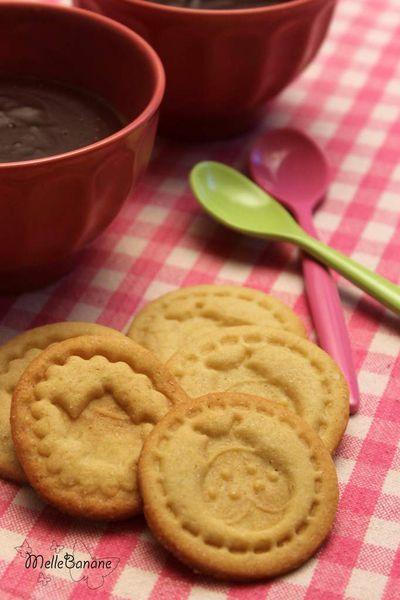 Biscuits à la fleur de sel à l'érable