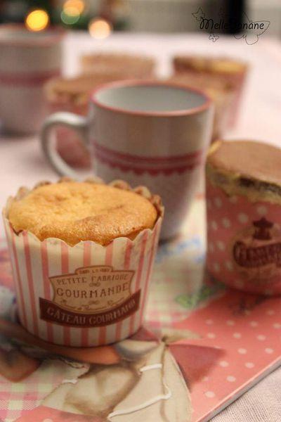 Muffin vanille chocolat