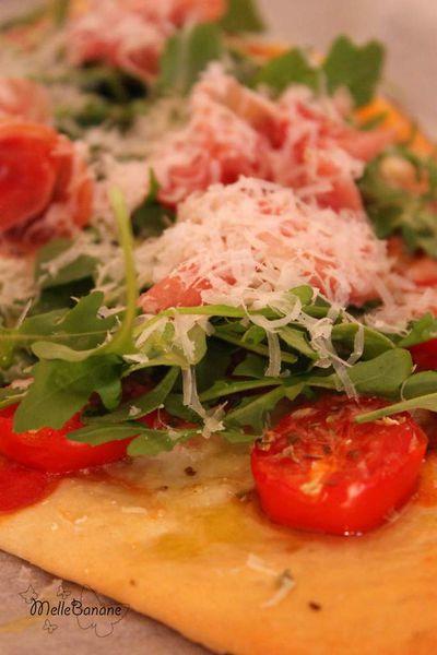 Pizza à l'épeautre