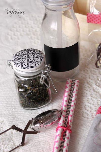 Cadeau gourmand - Pausé thé,biscuits &amp&#x3B; chocolat