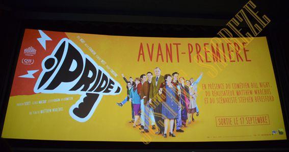 Pride, les photos de l'avant première Parisienne avec Bill Nighy !