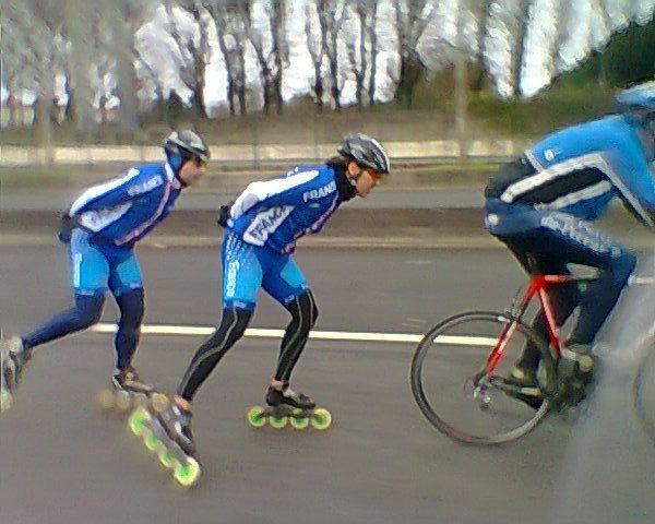 Eventail vélo-patins.