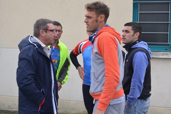 Arnaud GERARD désolé, dépité et déçu en ce samedi.