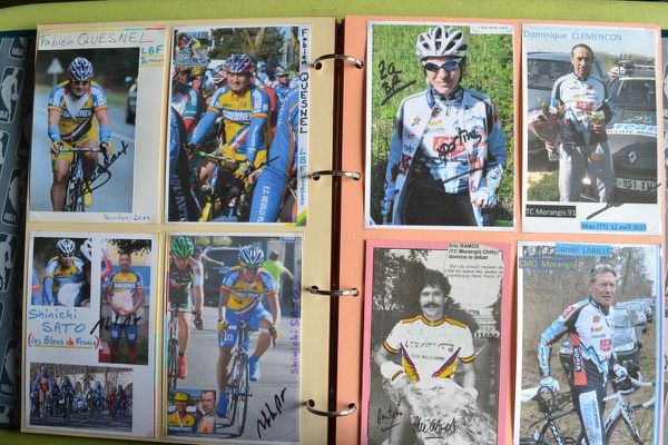 Les Bleus de France et Team Cyclistes Morangis.