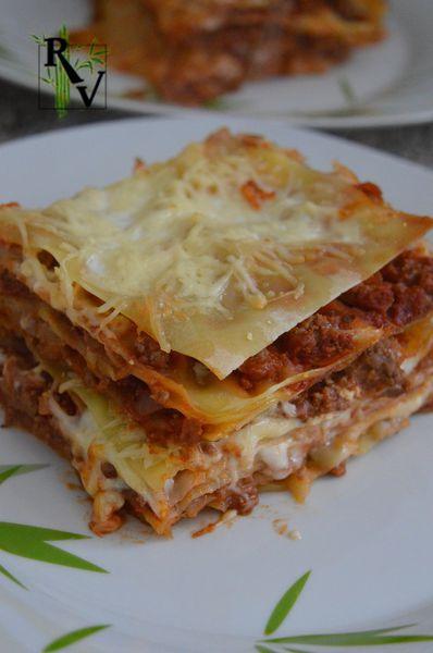 Lasagne à la Bolognaise Végétarienne