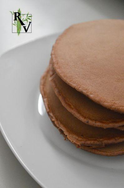 Pancakes au Cacao