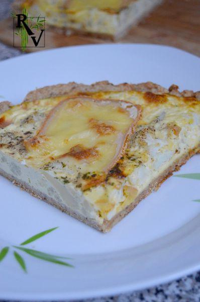 Quiche au Chou-Fleur &amp&#x3B; Raclette