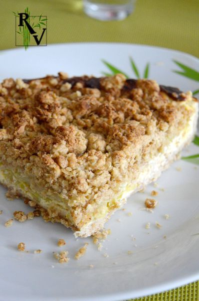 Tarte Cheesecake Crumble au Chèvre &amp&#x3B; Courgettes