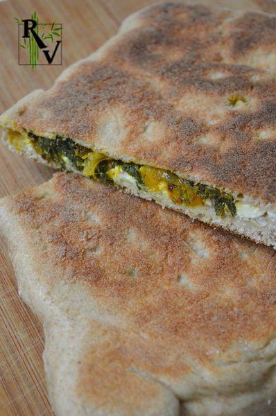 Gözlemes (pains plats turcs farcis)