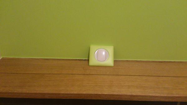 Changement de l'interrupteur du WC