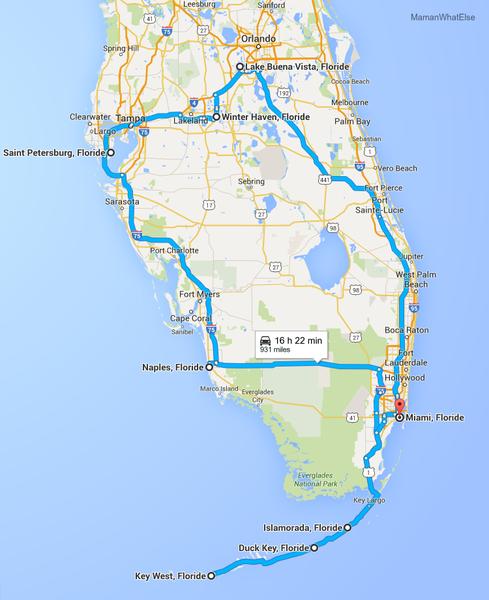 Florida nous voilà!!!
