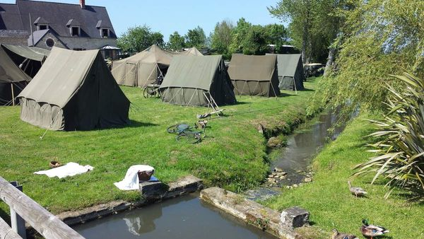 Le camp en Normandie