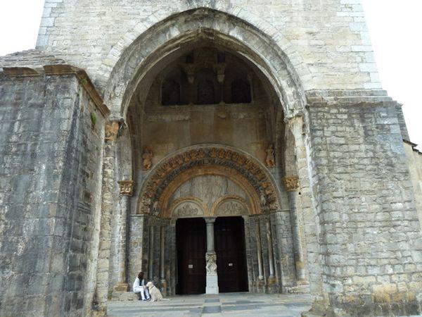 La cathédrale Saint Marie d'Oloron, classée Unesco