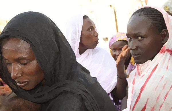 Femmes Harratines du Gorgol. Crédit : Mamoudou Lamine Kane